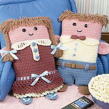 Pillow Dolls Crochet Patterns