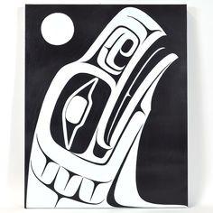 Raven Rising - Acrylic on Canvas
