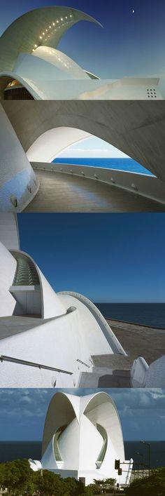 "Auditorio de Tenerife ""Adán Martín"", de Santiago Calatrava"