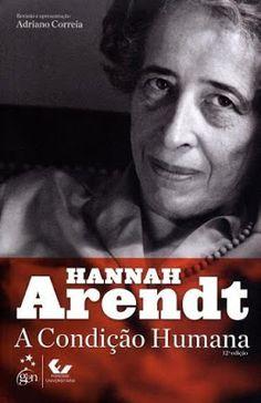Hannah Arendt - A Condição Humana (1958) - Blog Almas Corsárias