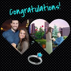 Jinger and Jeremy are engaged! So excited for them! Let the Duggar wedding bells ring! Duggar Girls, Jinger Duggar, Duggar Wedding, Derick Dillard, Jeremy Vuolo, Morgan Elizabeth, Dugger Family, 19 Kids And Counting, Watch Tv Shows