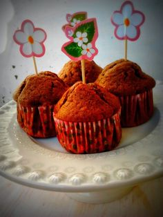 Muffins de pepitas de chocolate da Nigella Lawson
