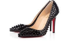 pigalle spike patent louboutin heels