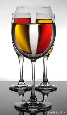 Wine Glass Art