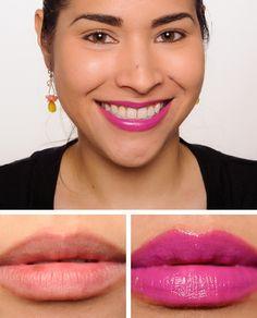 Maybelline Brazen Berry ColorSensational Vivids Lip Color Review, Photos, Swatches