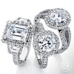 You say Halo, I say Bloom! Check out Blooming Beauties from Tacori> http://www.wherethediamondsare.com/designers/tacori/fashion.html?utm_content=buffer905d6&utm_medium=social&utm_source=pinterest.com&utm_campaign=buffer