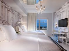 SLS hotel Miami · rooms designed by Phillipe Starck. opening in april 2012 ...