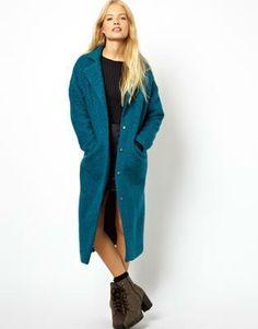(Trend: Zomerjassen Musthaves) ASOS Textured Maxi Coat