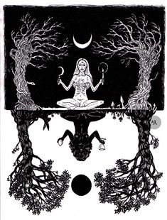 Witchy Wandering - - I'm Lily, A Secular, Eclectic Witch, snail enthusiast and BSL (British Sign Language) user. Kunst Inspo, Art Inspo, Fantasy Kunst, Fantasy Art, Satanic Art, Eclectic Witch, Tattoo Und Piercing, Bild Tattoos, Occult Art