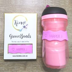 Personalised for everyone! Comes is a pack of 3 with 8 fun colours to choose from. Visit our website for more. Name Labels, Bottle Feeding, Cool Names, Bottle Labels, Baby Bottles, Water Bottle, Colours, Mugs, Website