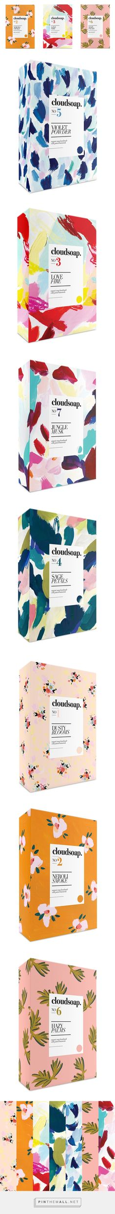 Cloudsoap Packaging - by illustrator Katy Smail