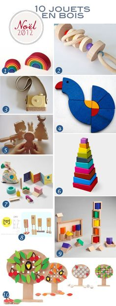 wooden toys - thanks for including our GOLO sets!