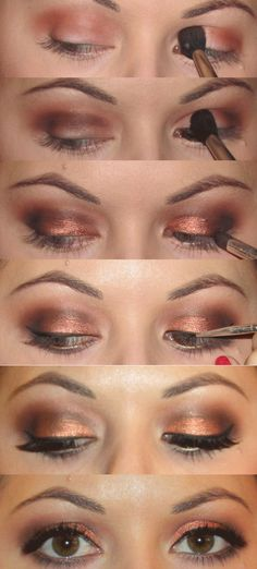 Step By Step New Years Eve Eye Makeup