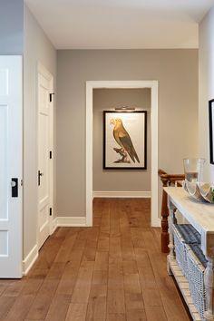"""Flooring is White Oak Rift and Quartered 6"""" eased edges."""