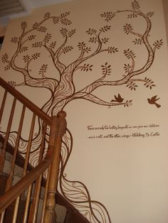 Picture tree mural