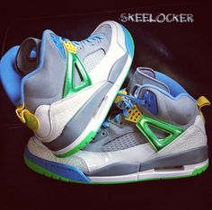 SkeeLocker 077 365  Air Jordan Spiz ike