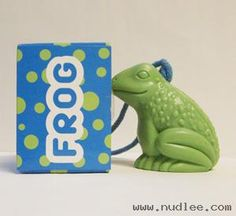 Frog Soap On a Rope
