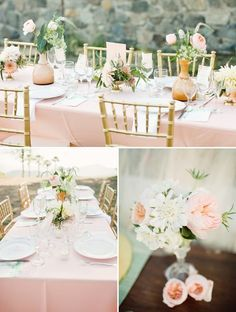 tea rose, white gold and soft green colour palette - Google Search