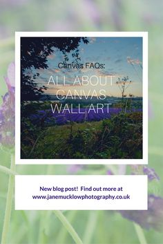 All about my canvas wall art - Jane Mucklow Photography My Canvas, Canvas Fabric, Canvas Wall Art, Canvas Prints, Photography Blogs, Photo Canvas Prints, Art On Canvas, Burlap Fabric, Canvas Paintings