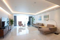 전주 신시가지 아이파크 아파트 인테리어 Luxury Rooms, Luxury Living, Living Room Modern, Living Area, Living Room Lighting, Living Room Decor, Home Theater Lighting, Interior Architecture, Interior Design