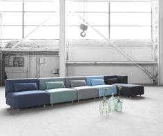 Nima modul sofaer, Charlotte Høncke-designs