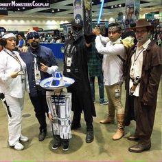 Princess Loca, Han Cholo, Arturito, Darth Vato, Loco Skywalker and Hommie Juan Kenobi