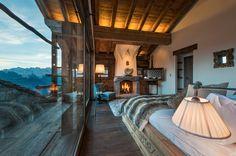 Luxury Chalet Rentals - Verbier - Switzerland Chalet Design, Chalet Style, Chalet Interior, Interior Exterior, Interior Design, Interior Decorating, Decorating Ideas, Hotel Ski, Chalet Zermatt