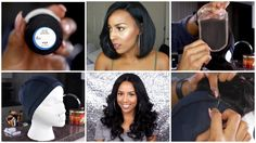 Another video on How to Make A full Wig with Lace Closure.  I am definitely going to use this one too.