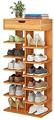 Home TZAMLI wooden shoe rack vertical design entrance area shoes storage rack modern 6 Ti # storage Shoe Box Storage, Shoe Rack Organization, Entryway Shoe Storage, Shoe Organizer, Storage Shelves, Rack Shelf, Wooden Shoe Storage, 6 Tier Shoe Rack, Wood Shoe Rack