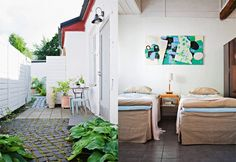 Apartment hotel Alapiha in Ekenäs, Finland Wild Nature, Coastal Homes, Archipelago, Old Town, Finland, Beach House, Room Decor, Cottage, Interior