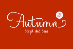 Autumn Mood // Font Duo by Andika Fez Upper And Lowercase Letters, Letter W, Uppercase And Lowercase, Lower Case Letters, Script Logo, Handwritten Fonts, All Fonts, Brand Fonts, Freelance Graphic Design