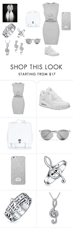 """New Brand"" by rosela-1 ❤ liked on Polyvore featuring River Island, NIKE, Proenza Schouler, Prada, MICHAEL Michael Kors, Bling Jewelry and Journee Collection"