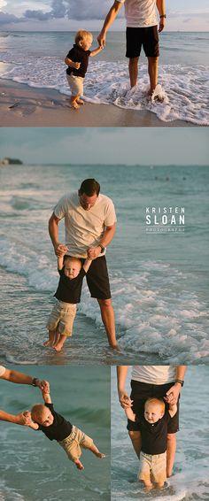 Sunset in Treasure Island Beach Florida Family + Kid + Baby Photos