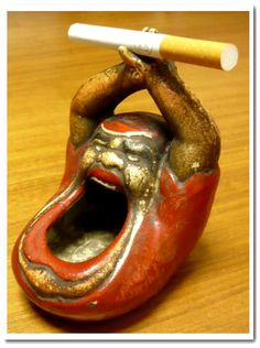 ceramic ashtray