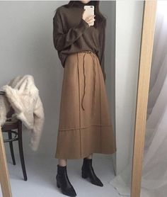 ZAFUL offers a wide selection of trendy fashion style women's clothing. Muslim Fashion, Modest Fashion, Skirt Fashion, Hijab Fashion, Korean Fashion, Fashion Outfits, Fashion Tips, Casual Hijab Outfit, Casual Outfits