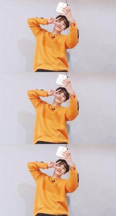 Foto Chanyeol Exo, Kyungsoo, Kpop Exo, Chanbaek, Kaisoo, Exo Lockscreen, Exo Members, Husband, Parks
