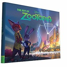 The Art of Zootopia Book   Disney Store <i>Zootopia</i> is a comedy-adventure starring Officer Judy Hopps, a rookie bunny cop who teams up with fast-talking scam-artist fox Nick Wilde. This lushly illustrated book offers a behind-the-scenes view of the film's creation.