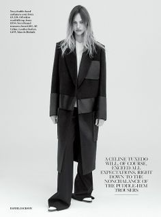 British Vogue July 2014 Long Hair