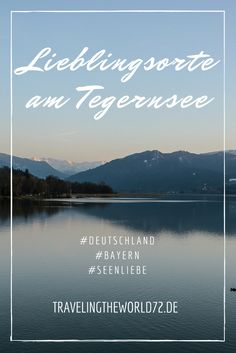 Bavaria and its lakes: On the outskirts of Munich the Tegernsee attracts to hiking, swimming and enjoying. Hiking and restaurant tips for the Tegernsee. Travel Around The World, Around The Worlds, Weekend Trips, Germany Travel, Munich, Places To See, In The Heights, Travel Tips, Beautiful Places