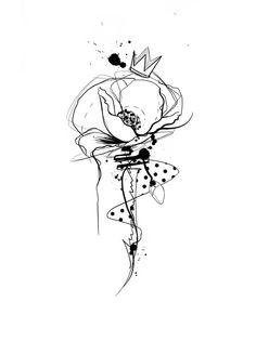 Tattoo Drawings, Body Art Tattoos, Tatoos, Flower Tattoos, Tattoo Floral, Neue Tattoos, Tattoo Illustration, Hair Quotes, Shoulder Tattoo