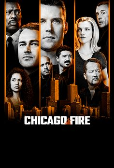 NBC's so pleased with the performance of the Chicago Med, Chicago Fire, and Chicago P. that they given all three series renewal orders for the season. Chicago Fire Serie, Chicago Fire Saison 1, Chicago Shows, Series Online Free, Tv Shows Online, Taylor Kinney, Jesse Spencer, Tv Series To Watch, Action Movies