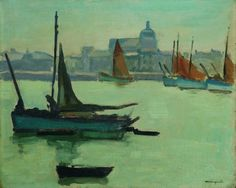 Albert Marquet (French, 1875 - 1947) - Port de la Chaume, N/D