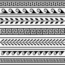 Resultado de imagen para dibujos de cenefas geometricas