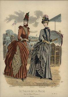 Le salon de la Mode 1886