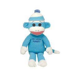 bf801f76545 Ty Beanie Babies My Little Monkey Blue Sock Monkey Sock Monkey Nursery