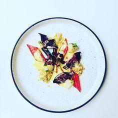 Vegetables from @alain_passard garden, beets, carrots, Swiss chard, turnips and oxalis. #instafood #TheArtOfPlating #foodporn #foodstagram  #kitchen #chef #chefstalk #chefsroll #foodphotography #gastroart #foodart #expertfoods #ChefsOfInstagram #gastronom