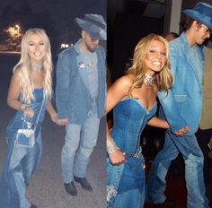 Hot Couple Costumes, Celebrity Couple Costumes, Duo Costumes, Cute Couple Halloween Costumes, Best Celebrity Halloween Costumes, Trendy Halloween, Halloween Ideas, Costume Ideas, Halloween Decorations