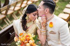 Austin, TX Indian Fusion Wedding by Studio Uma