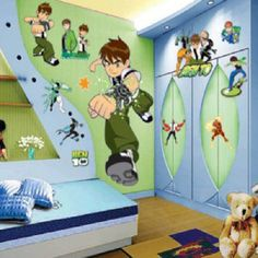 All About Sticker Emoticons Kids Decor Baby Home Ben 10