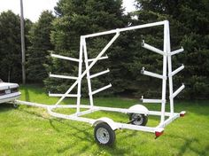 kayak trailer | Magneta Trailers, Receiver Hitch Carriers & Trailer Accessories,